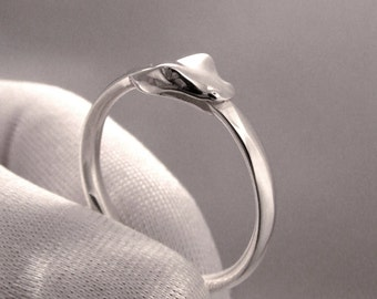 Ouroboros Ring in Sterling Silver by Universe Becoming