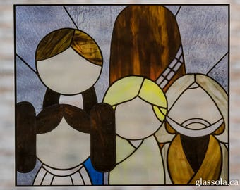 Star Wars Stained Glass Window Cling