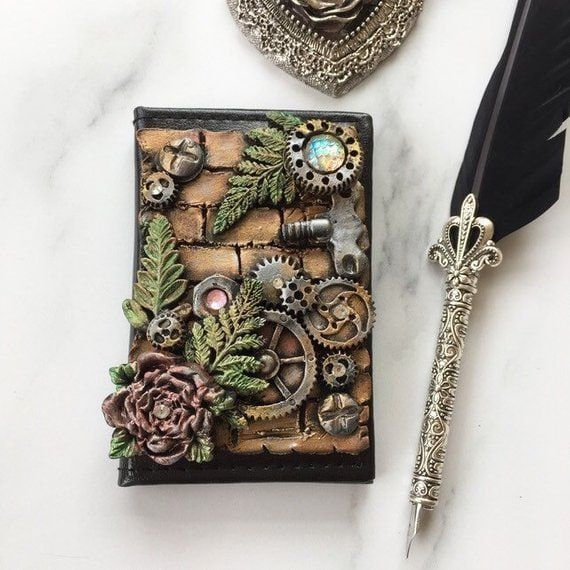 Steampunk Garden address book