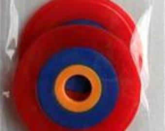 Pom Pom Maker Set - Bohemian Pom Pom Maker - Uses Thread - Knitting Wool - With Instructions - Free Post UK
