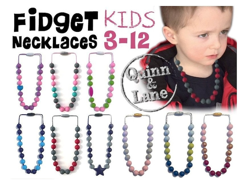 Kids Fidget Necklace  Boys & Girls Children's Jewelry  image 0