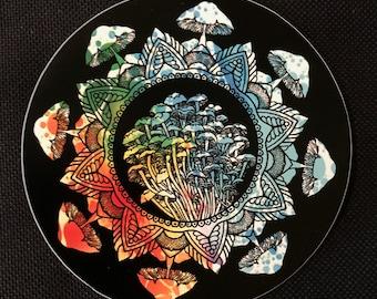 Sacred Geometry Sticker Etsy