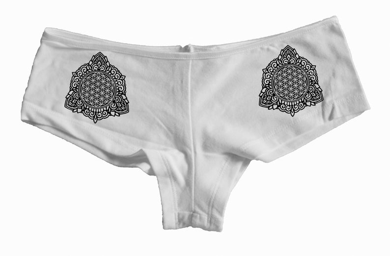 Women's Underwear FLOWER OF LIFE Mandala Sacred Geometry image 0