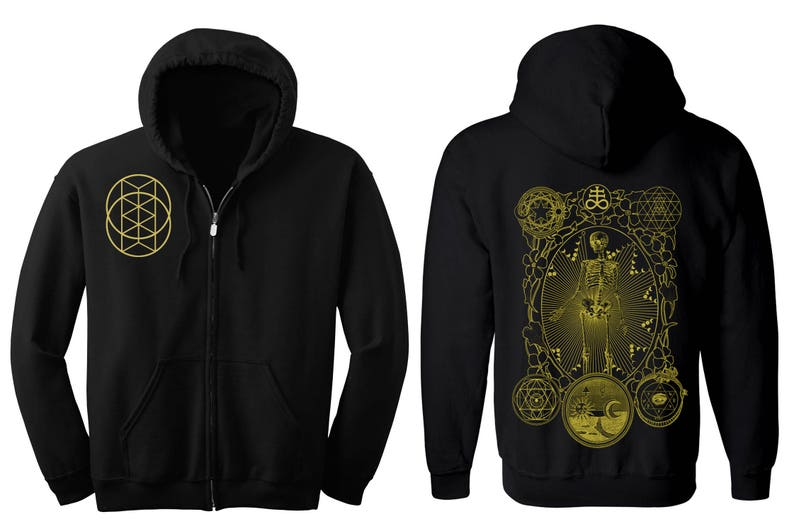 ALCHEMIST Hoodie Men's and Women's Geometric Alchemy image 0