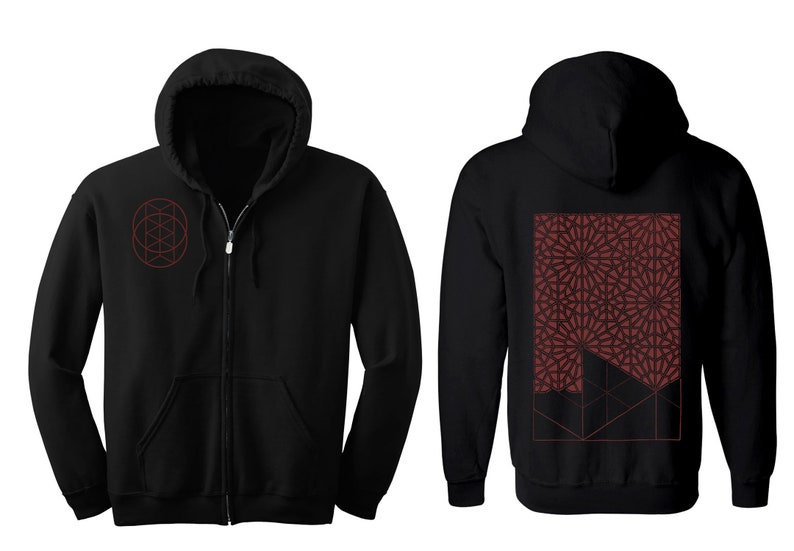 Geometric PATTERN RECOGNITION Hoodie Men's and Women's image 0