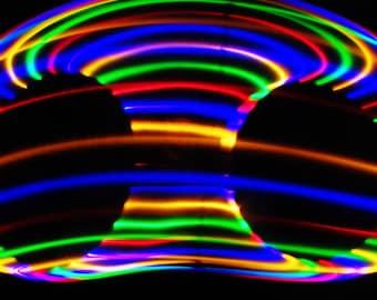 LED Hula Hoop HDPE ~ Dazzle ~ Prepare to be...