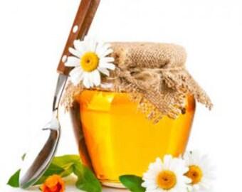 Honey Flavor Oil Sweetened   3ml 5ml 1/2 oz 1 oz   Sample Vial