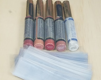 Shrink Bands 28mmx105mm, Perforated Wrap for Lip Gloss Tubes