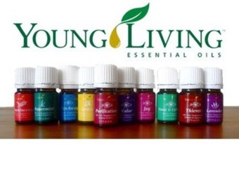 Young Living Essential Oils  Sample Size