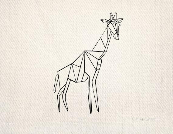Giraffe Svg Giraffe Dxf Giraffe Decal Giraffe Clipart Svg Etsy