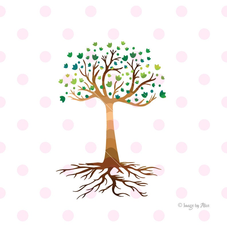 Tree SVG DXF Tree sticker Tree clipart Tree vinyl decal | Etsy