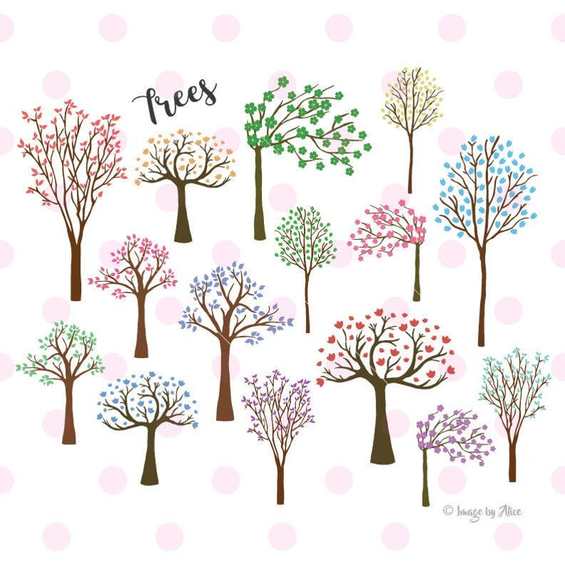 Tree SVG, tree sticker, tree clipart, tree vinyl decal, svg files for  cricut INSTANT DOWNLOAD - Royalty Free, Commercial Use, Business Use