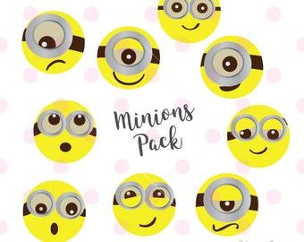 Minion SVG, Minion party, Minion birthday, Minion shirt, Minion birthday svg files for cricut INSTANT DOWNLOAD - Royalty Free, Business Use.