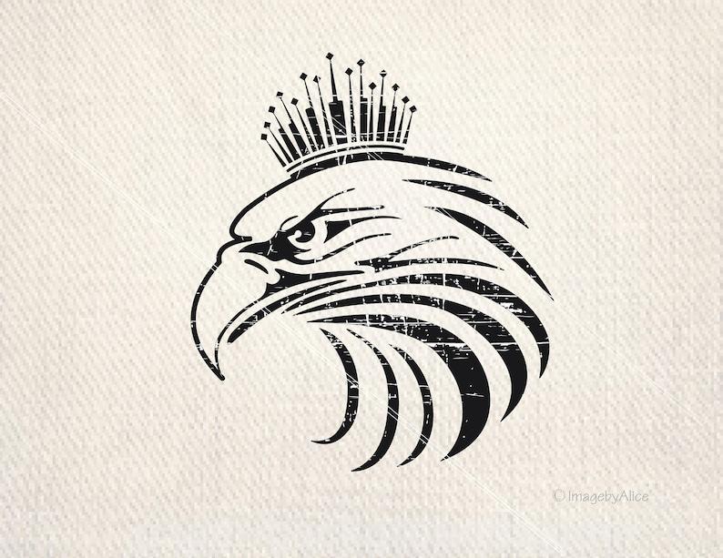 Eagle Svg Monogram Files Eagle Dxf Cricut Eagle Vinyl Ready Etsy