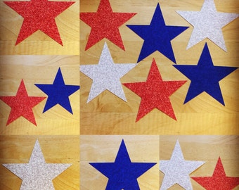 Star Cut Outs (Various Sizes and Colors Available)
