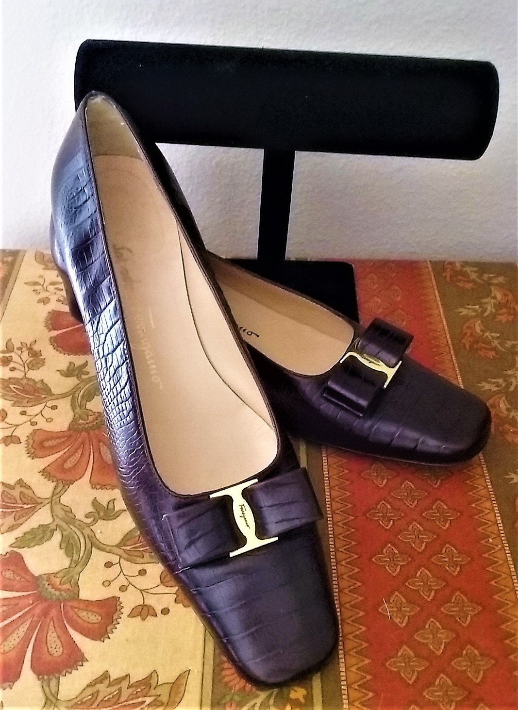 02225391432bd Salvatore Ferragamo Brown Shoes Size 11 Extra Narrow AA | Etsy