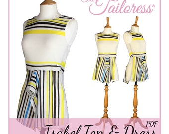 70633f755d085c Isabel Dress PDF Sewing Pattern Top PDF Sewing Pattern Summer Dress Pdf  Pattern Summer Top Pdf Pattern Pdf Sewing Patterns for Women