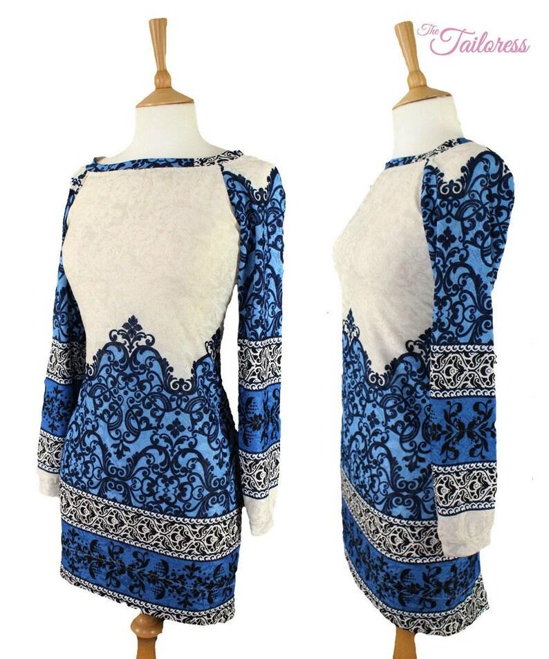 21ecdf746edee7 Esta Jersey Jumper Dress PDF Sewing Pattern Jersey PDF Jumper