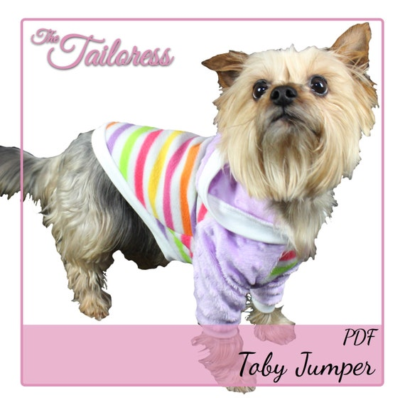 Größe 14 Toby Jersey Raglan Ärmel Pullover für Hunde PDF Nähen | Etsy
