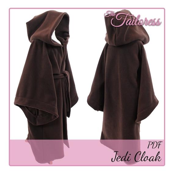Star Wars Jedi Cloak PDF 7-8 PDF Sewing Pattern Jedi Robe | Etsy