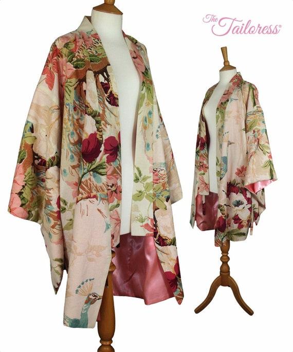 KURZER Kimono Robe PDF Nähen Muster Kimono PDF Gewand Nähen | Etsy