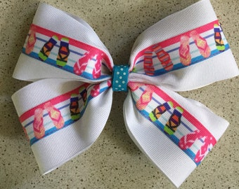 965c81d6f Flip flop hair bow