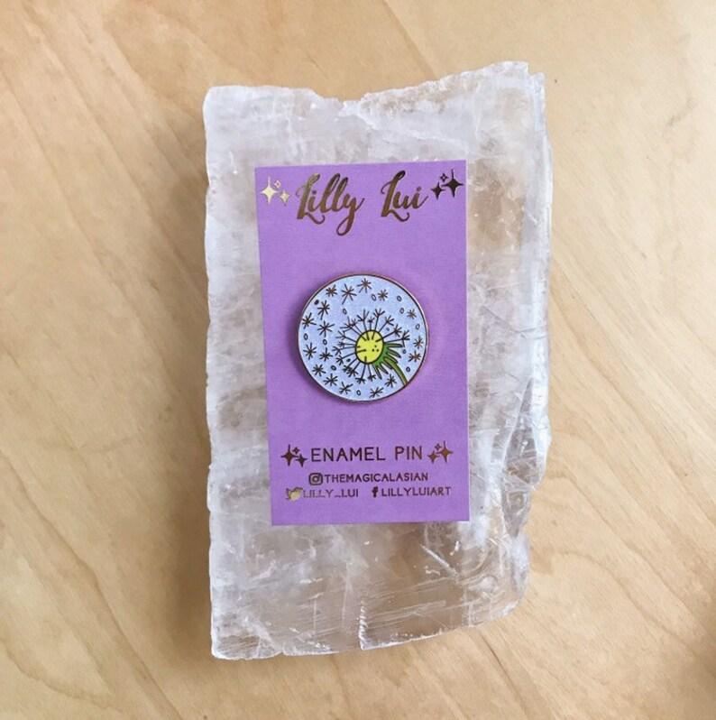 Dandelion Enamel Pin