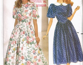 4550 Butterick SEWING Pattern Misses Dress Top Skirt Pants FF OOP SEW