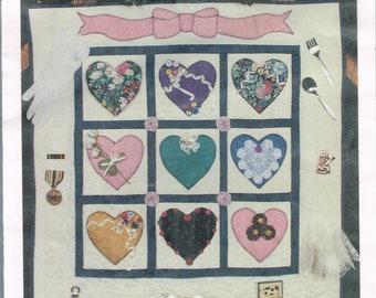 Heart quilt pattern etsy
