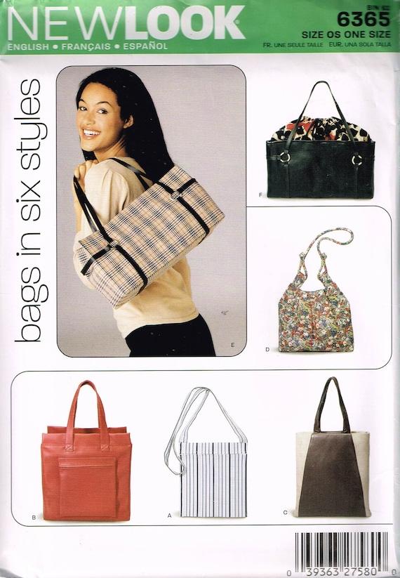 Hobo Bag Sewing Pattern Sling Purse Pattern Shoulder Bag | Etsy