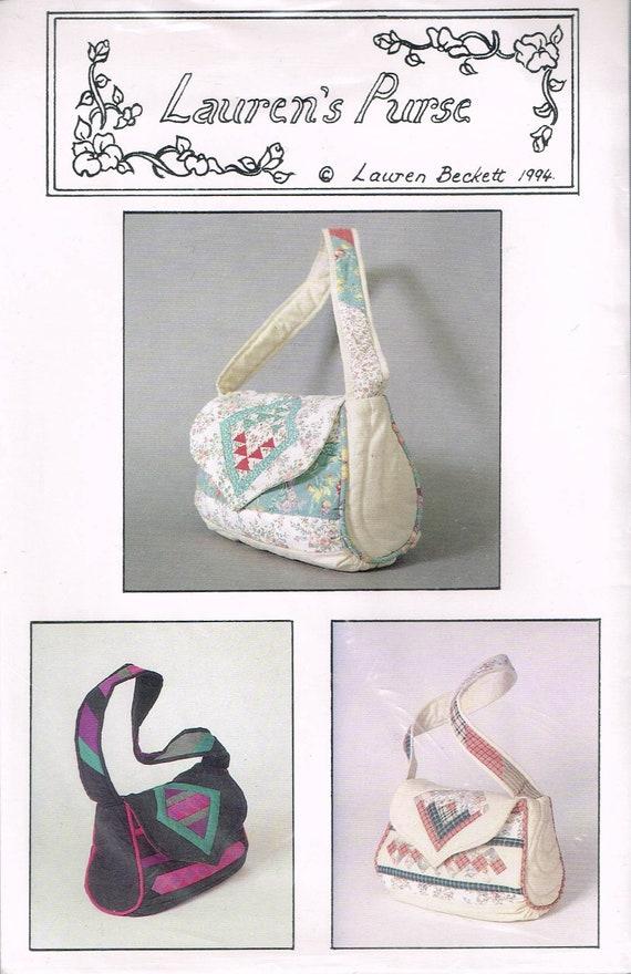 Gesteppte Handtasche Nähen Muster Messenger Tasche | Etsy