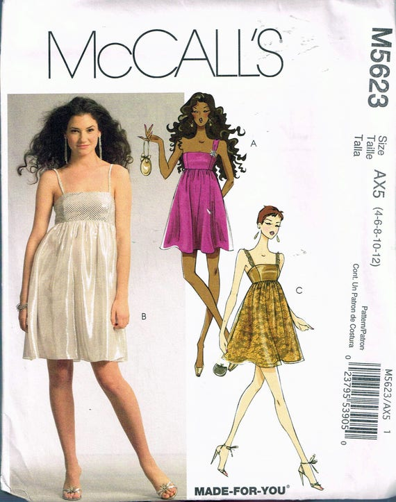 Evening Dress Sewing Patterns for Dolls