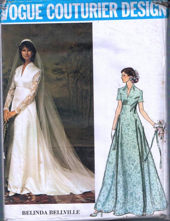 Größe 8-Hochzeits-Kleid-Schnittmuster Schwan | Etsy