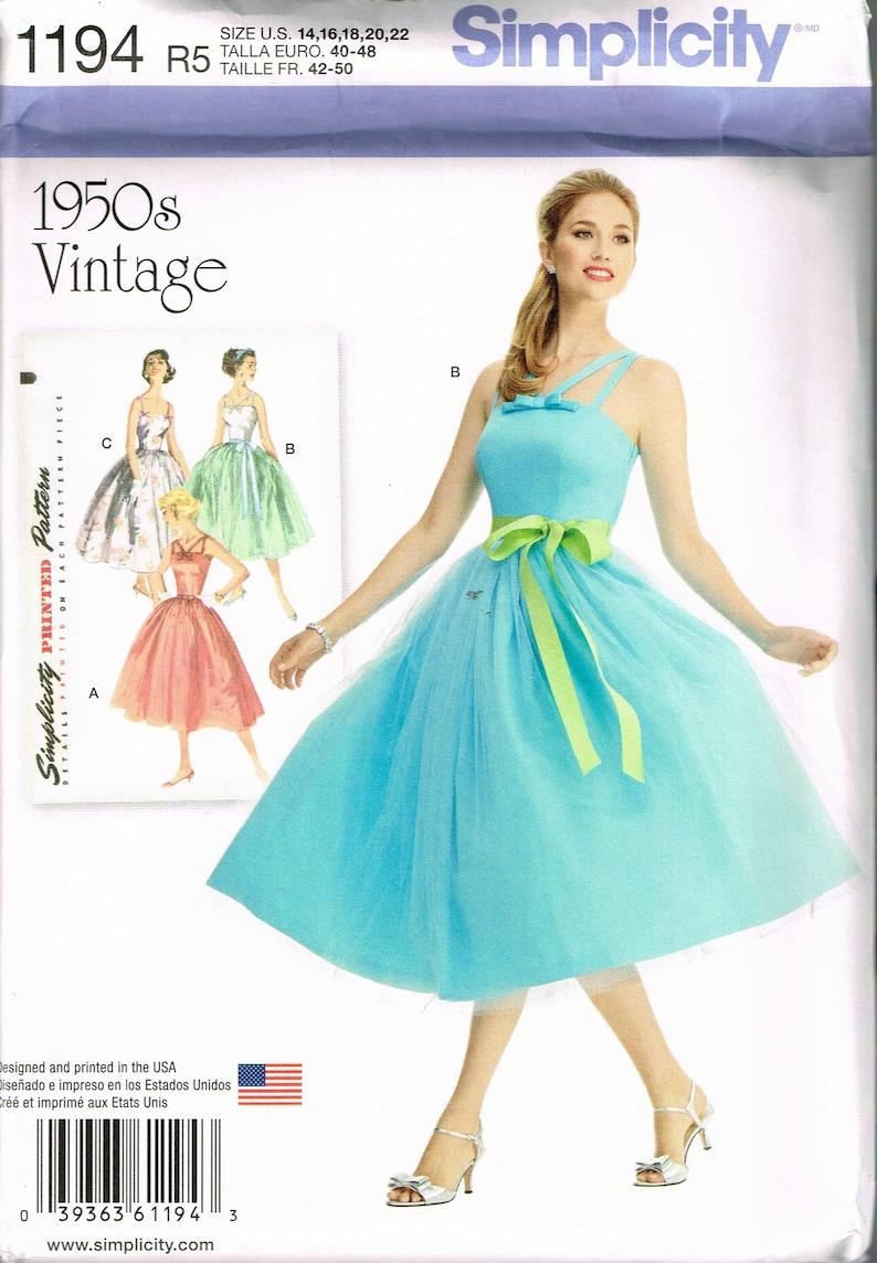 Rockabilly Dress Patterns Plus Size – DACC