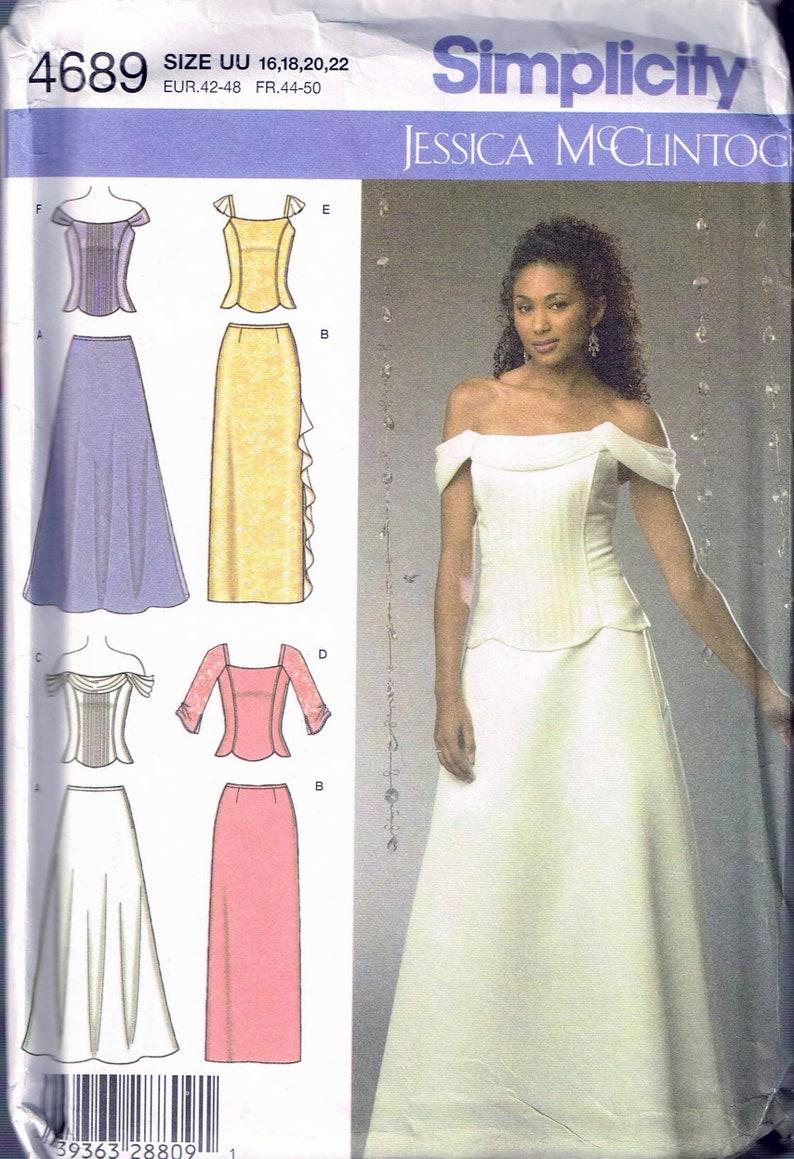 Size 16-22 Misses\' Plus Size Formal Dress Pattern Off | Etsy