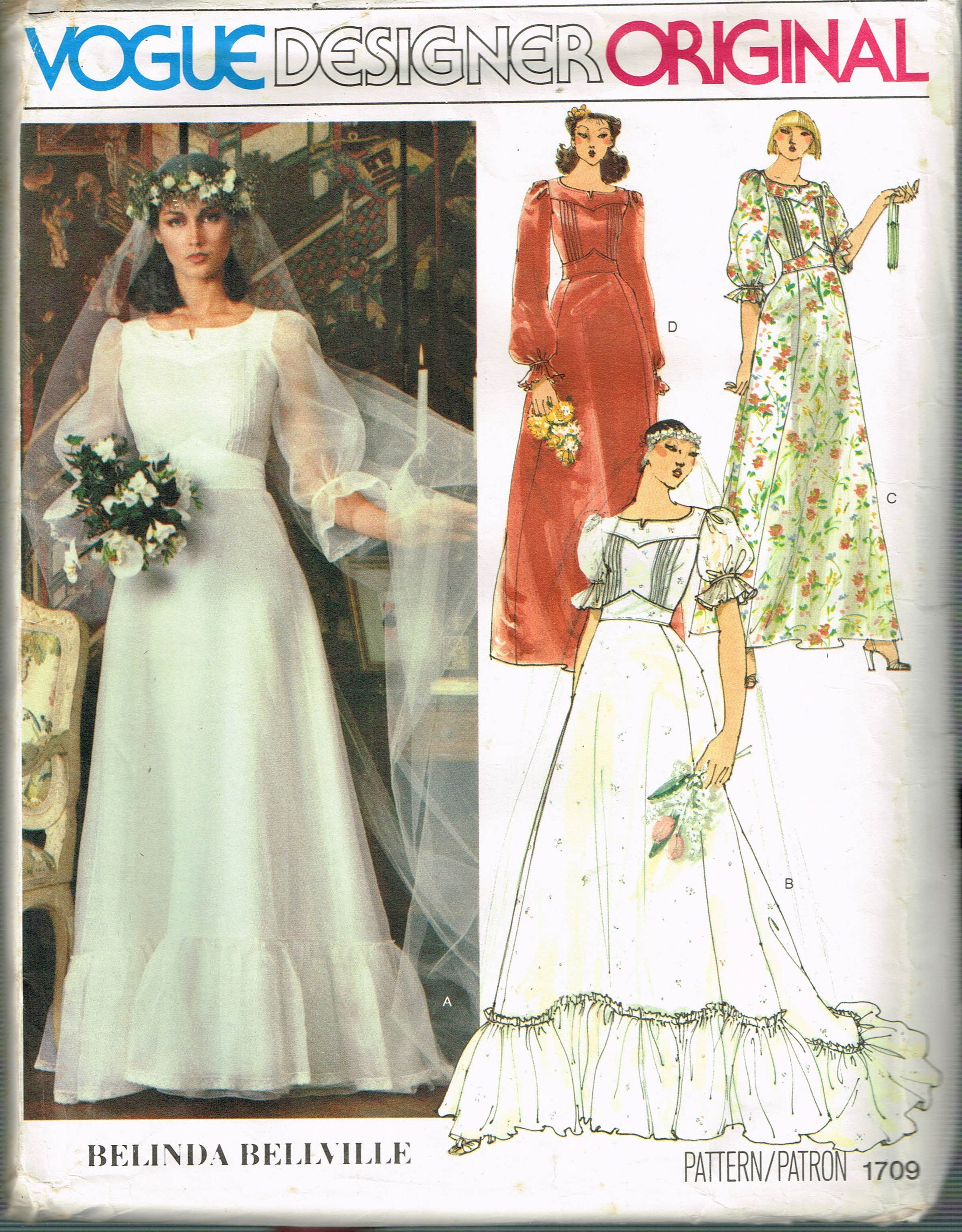 11e39d58764 Size 10 Vintage Boho Wedding Dress Sewing Pattern Pin Tuck