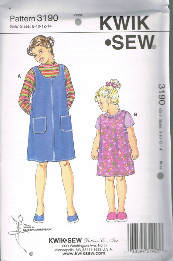 Ähnliche Artikel wie Größe 8-14 Mädchen Nähen Muster - kurzer ...