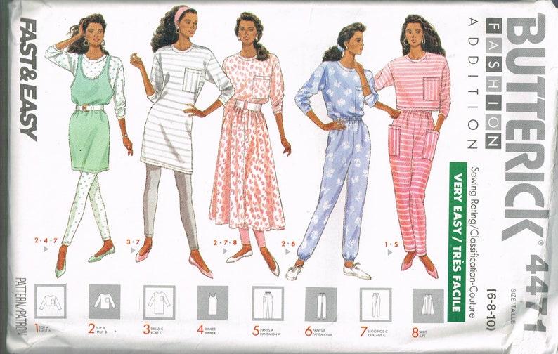 McCalls 9482 Misses Fleece Knit Jacket Vest Pants Skirt Sewing Pattern Uncut