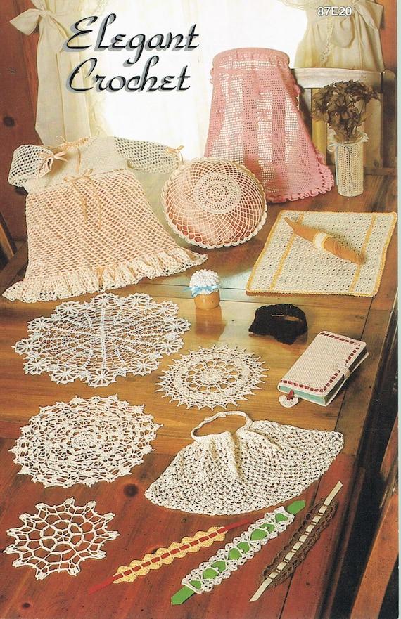 Doily Crochet Pattern Crochet Pillow Case Pattern Etsy