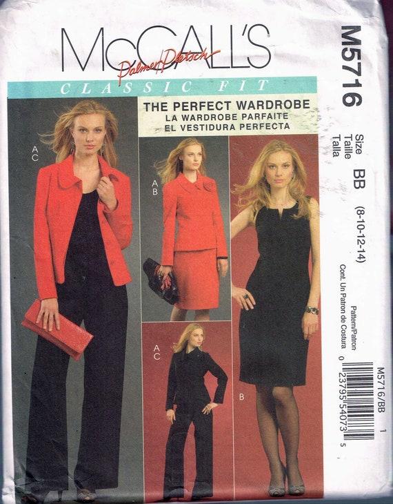 Größe: 8-14 Misses Kleid Jacke & Hose Schnittmuster | Etsy