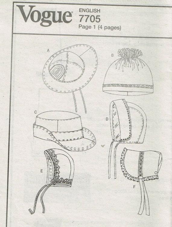 Größe NB-B Baby Hut Schnittmuster Baby Mütze Muster Baby | Etsy