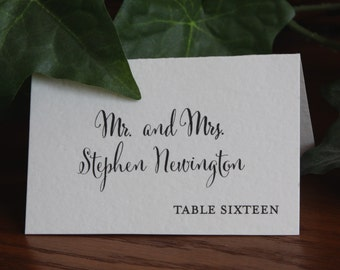 popular items for printed place cards - Printed Place Cards