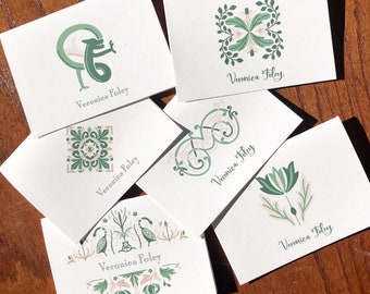 Personalized Irish Note Cards or Note Pads / Celtic Stationery