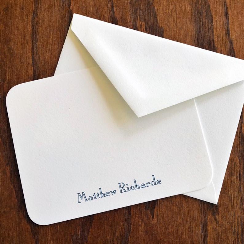 100/% Cotton Vivacious Personalized correspondence cards