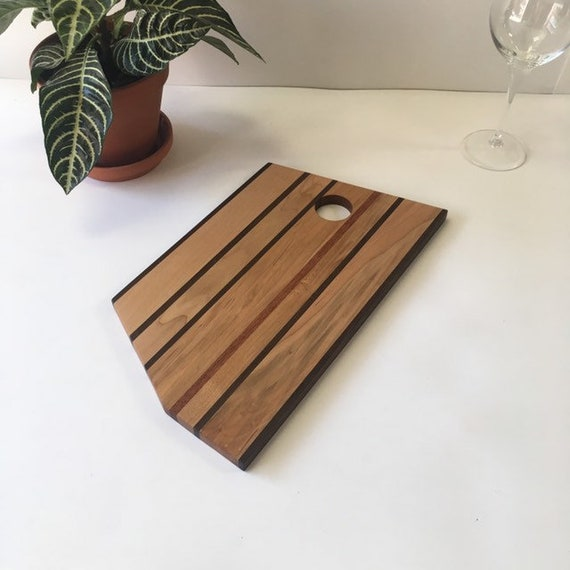 Maple presentation board, ipé - recycled mahogany.