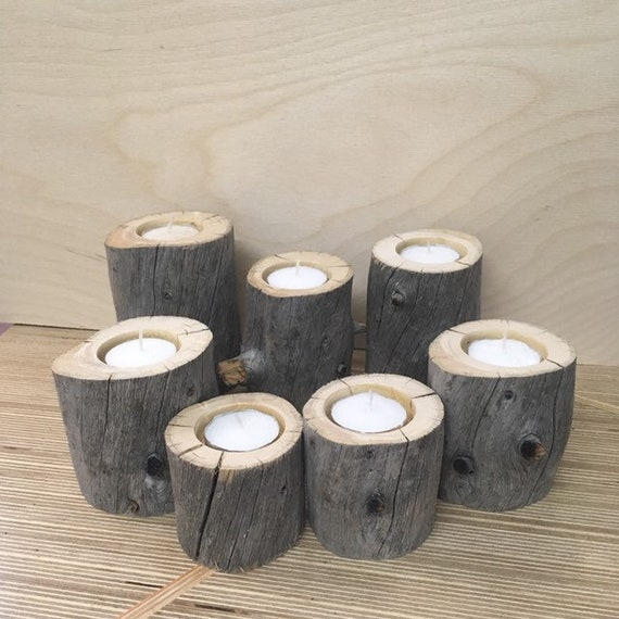 Black spruce from james Bay candlesticks