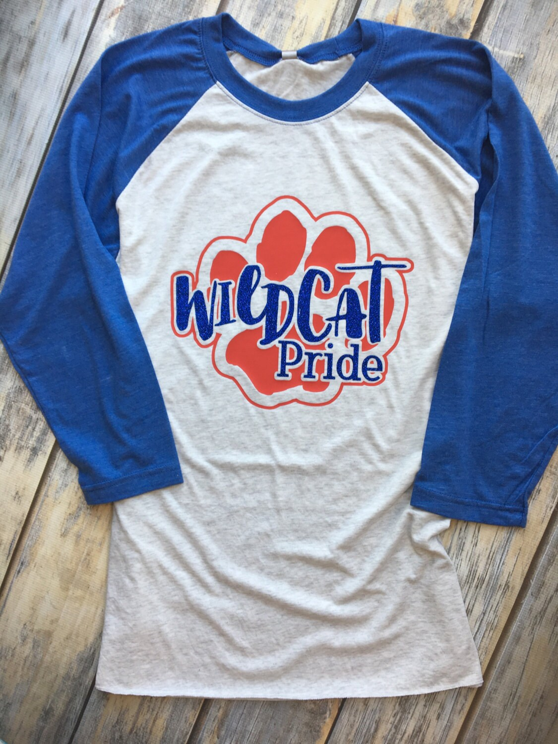 Wildcat Pride Custom Design On Shirt Of Choice Etsy