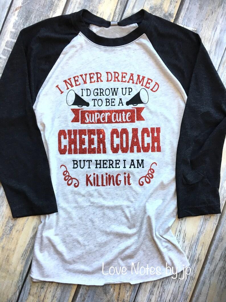 354b5f745ff Cheer Coach Cheer Coach Gift Cheer Mono Shirt Team