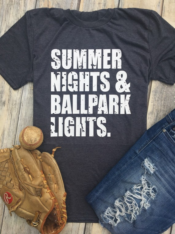 a257c829f10 Summer Nights Ballpark Lights Softball Mom Baseball Season