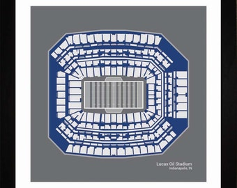 Mercedes Benz Superdome New Orleans Saints Stadium Seating Etsy